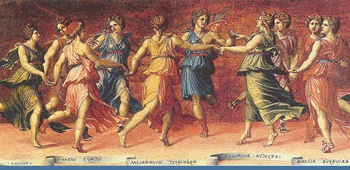 La Danza de las Nueve Musas