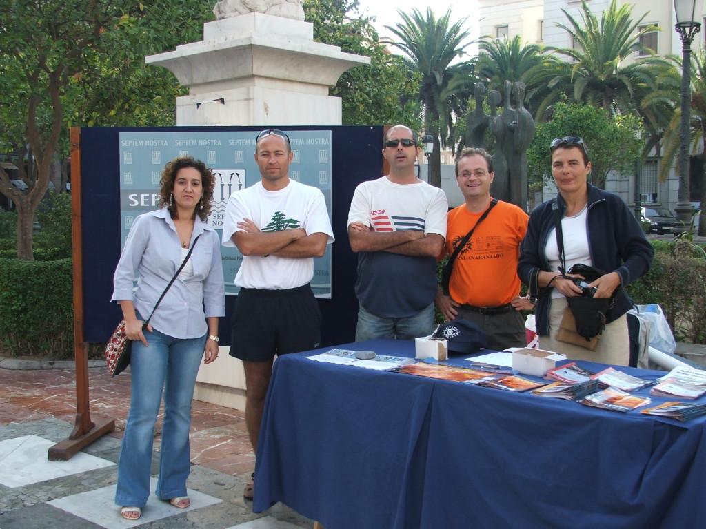 Socios fundadores de la asociación Septem Nostra