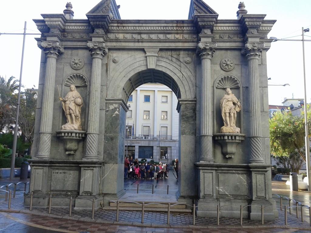 Recreación fachada del Hospital Real de Ceuta