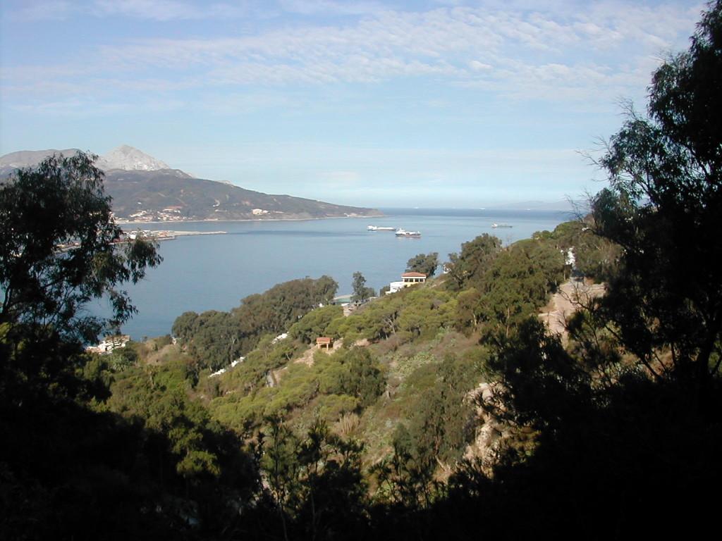 Vista de Ceuta