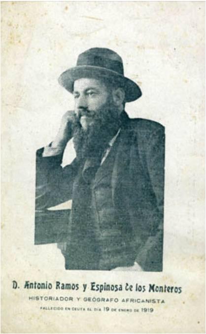 Antonio Ramos Espinosa de los Monteros (imagen Archivo General de Ceuta)