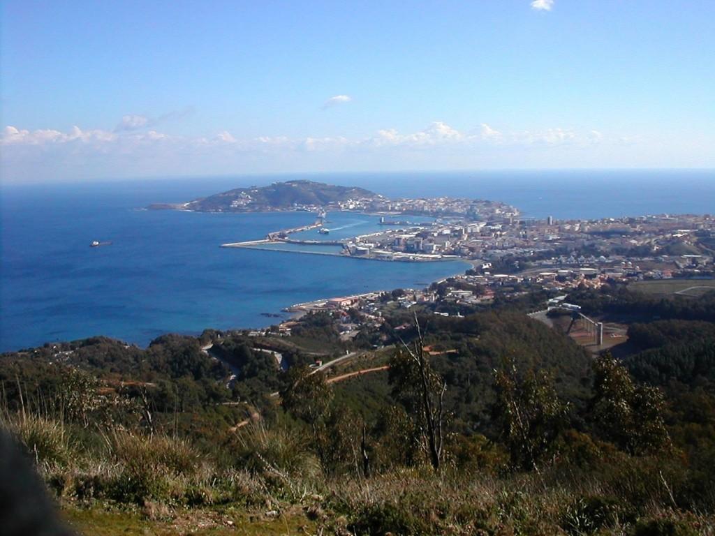 Vista general de Ceuta