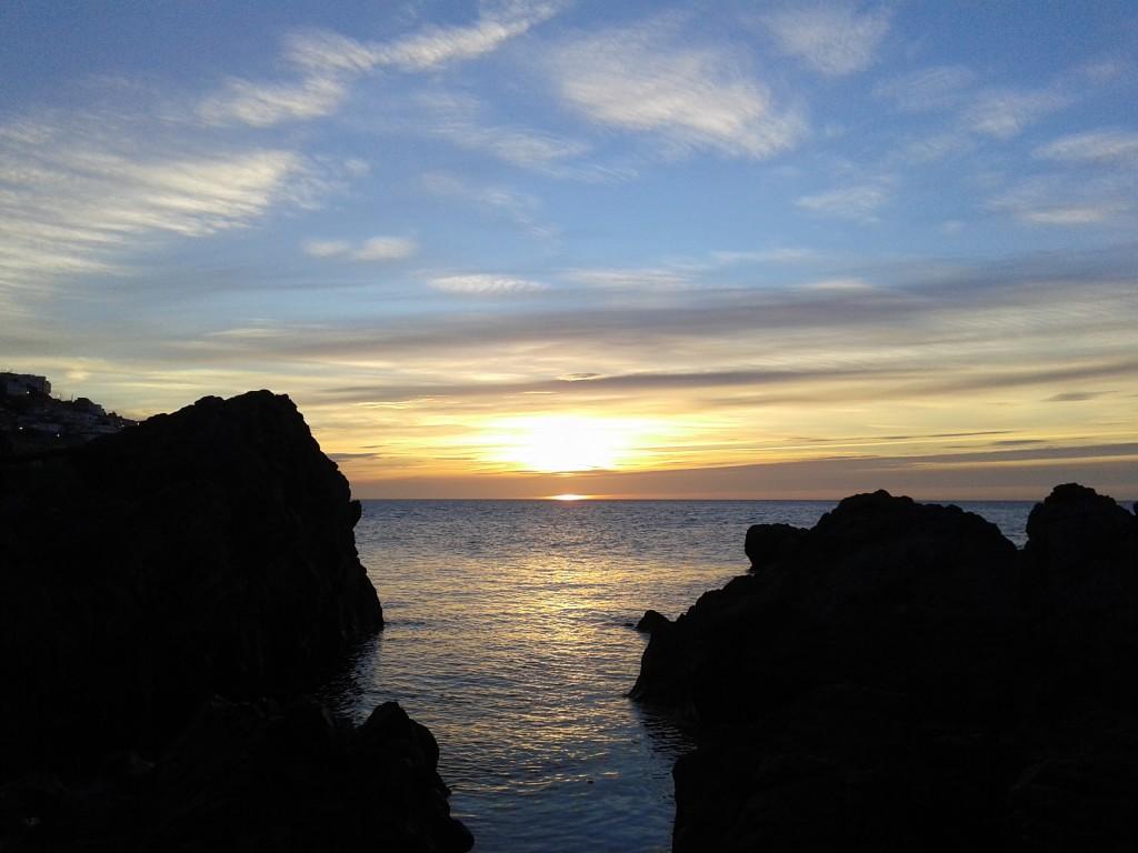 Amanecer desde el Sarchal (Ceuta)