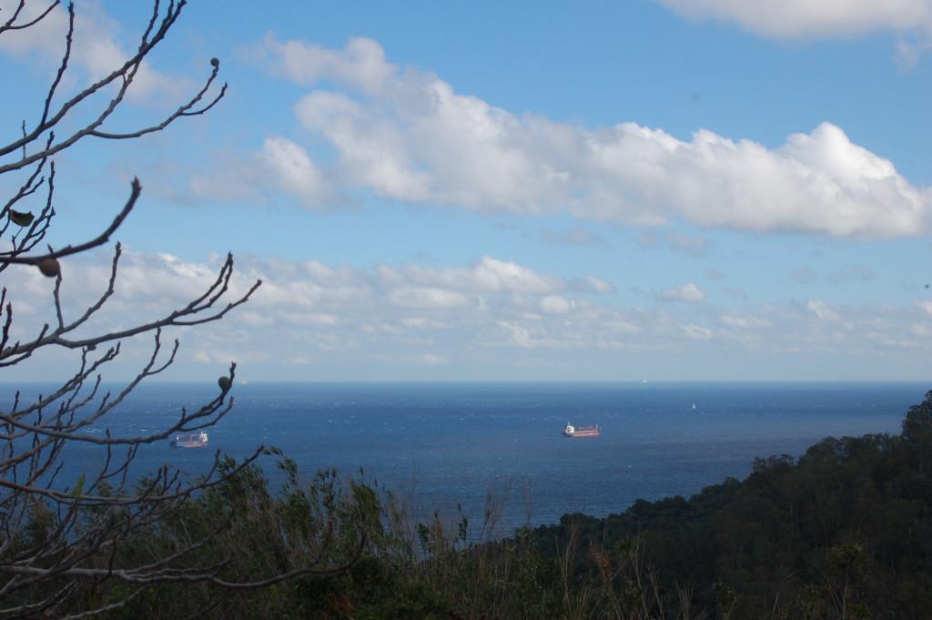 El Estrecho de  Gibraltar, lugar de la confluencia de los dos mares