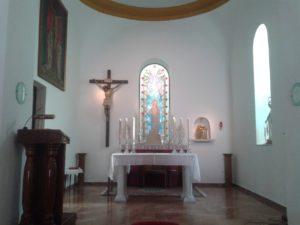 Imagen de la Virgen del Valle en su templo