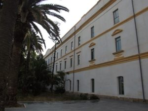 Cuartel de la  Reina, actual campus universitario de Ceuta