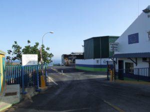 Planta de transferencia de residuos urbanos de Ceuta