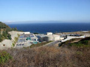 Estación depuradora  de aguas residuales de Ceuta (EDAR)