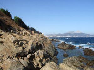 Arrecifes costeros en Santa Catalina