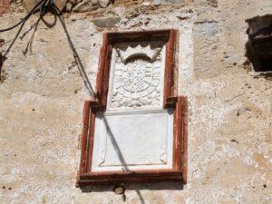 Escudo heráldico del castillo de San Amaro