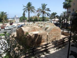 Baños árabes de la Plaza de la Paz
