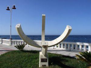 Reloj solar de la Playa de Benitez
