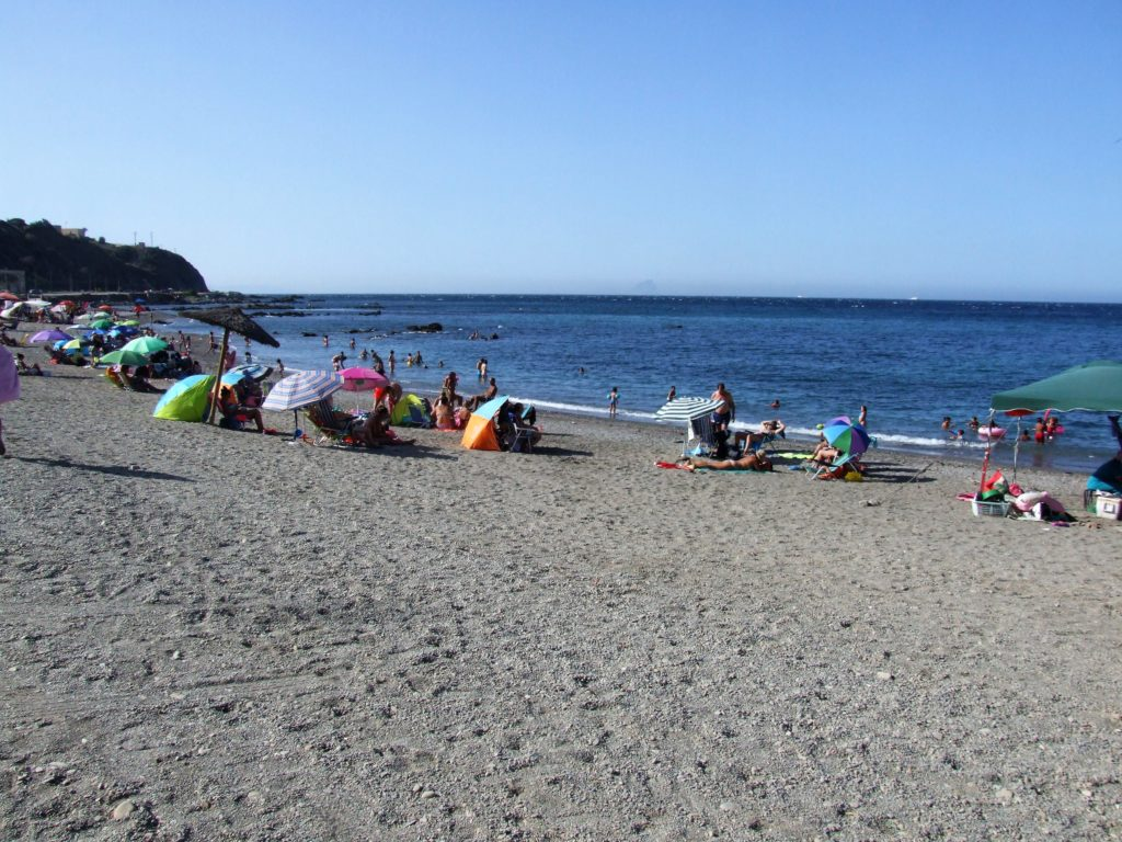 Playa del Trampolin