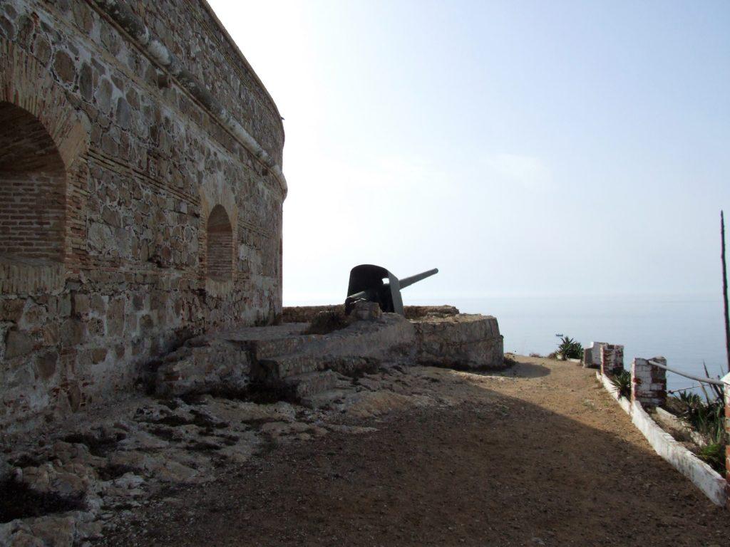 Restos del reducto antiguo del fuerte del Desnarigado