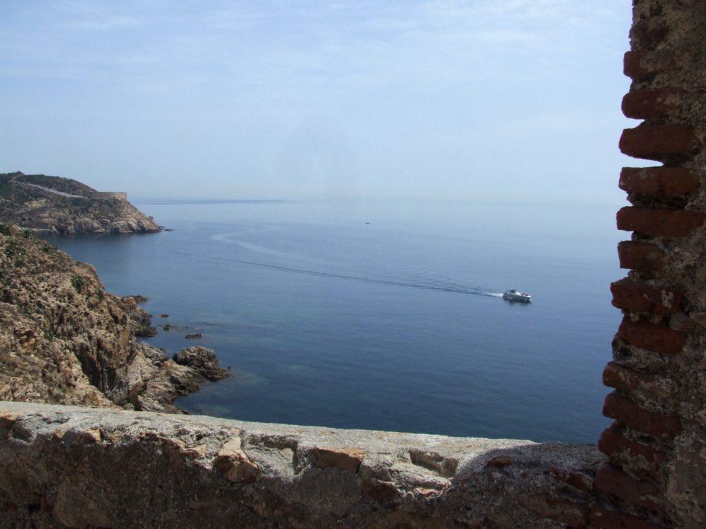 Vista desde el fuerte de la Palmera