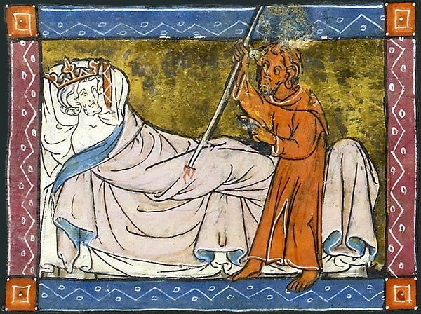 El rey herido o mutilado